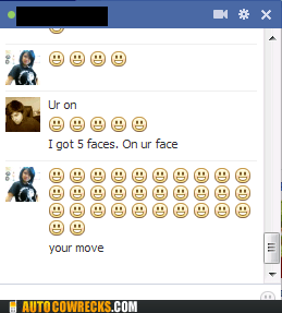 emoticons smiley faces win this round your move