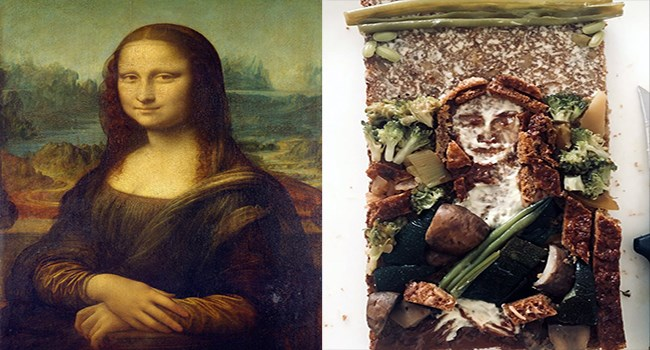 crazy hilarious wtf interesting famous cheezcake funny weird famous paintings - 6391301