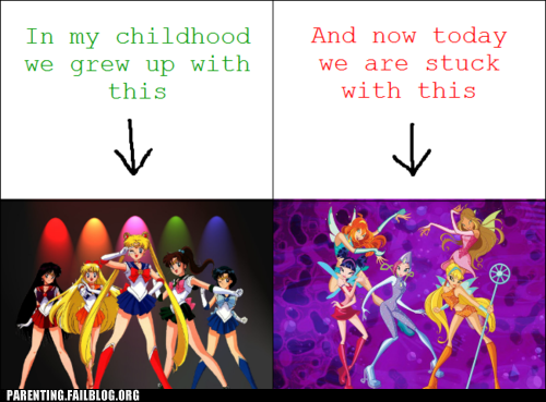 childhood sailor moon some other cartoon - 6391302656