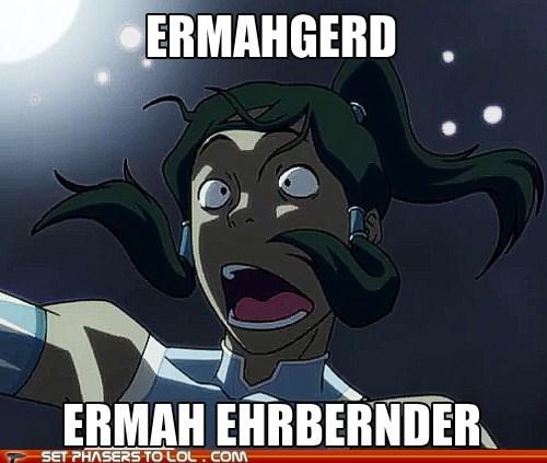 Avatar: The Last,Avatar the Last Airbender,berks,derp,Ermahgerd,korra,legend of korra