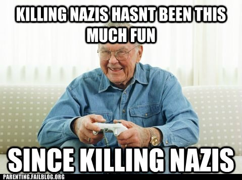 nazis,old man,video games