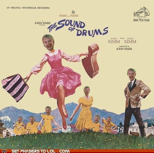 best of the week doctor who drums john simm the master the sound of music - 6391711744