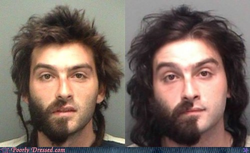 beard,facial hair,mugshot,weird
