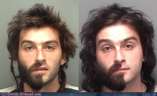 beard facial hair mugshot weird - 6391804160