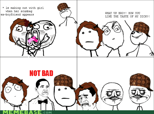 me gusta,not bad,Rage Comics,relationships,scumbag hat
