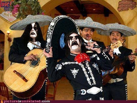 band,best of week,black metal,immortal,mariachi band,Music,wtf