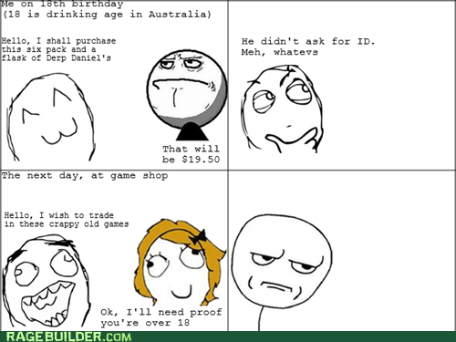 are you kidding me drinking Rage Comics video games - 6392587776