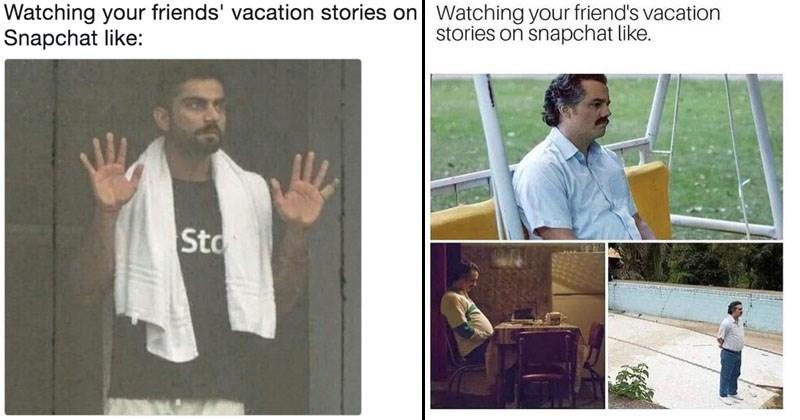 funny meme about snapchat memes.
