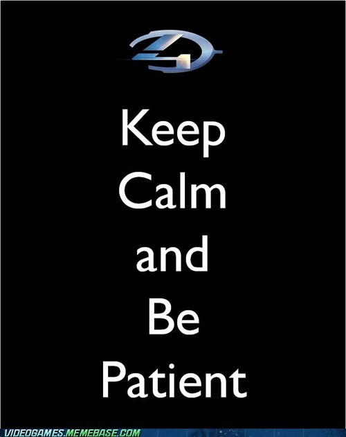 halo Halo 4 keep calm meme november release date