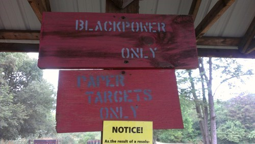 black power,shooting range,Target