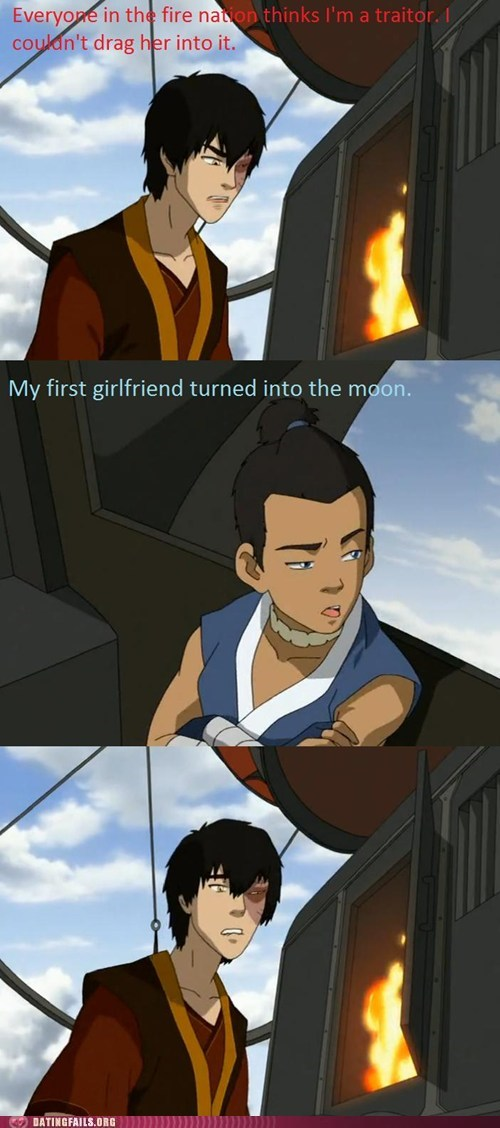 Avatar moon sokka the last airbender zuko - 6393337600