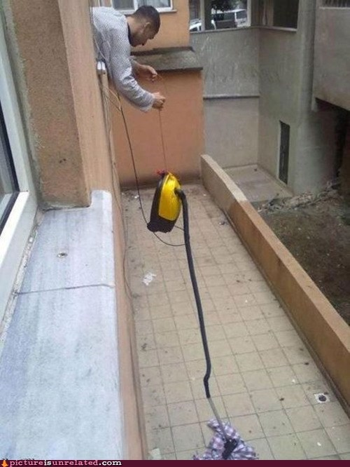 FTW,laziness,vacuum cleaner,wtf