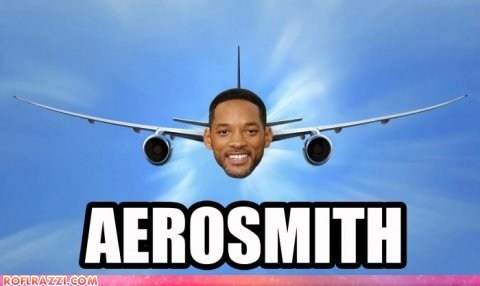 actor Aerosmith celeb funny Music pun shoop will smith - 6393592832