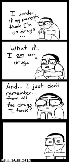 comic drugs nerd parents