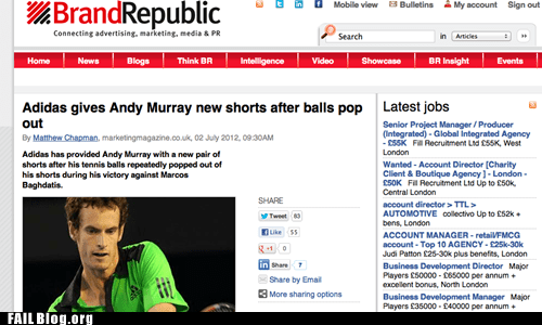 adidas andy murry balls headline tennis - 6393631232