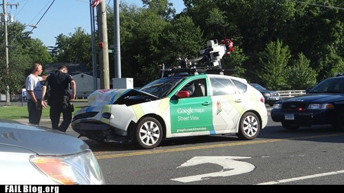 camera car,crash,fail nation,g rated,google maps,street view
