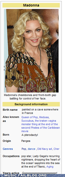 harsh,Madonna,wikipedia