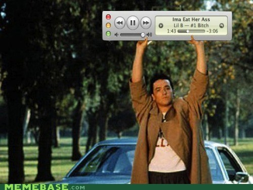 iTunes,Memes,movies,radio,Say Anything