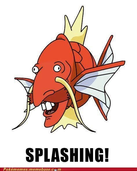 best of week,magikarp,meme,Memes,nigel thornberry,Pokémemes,splashing,wild thornberries