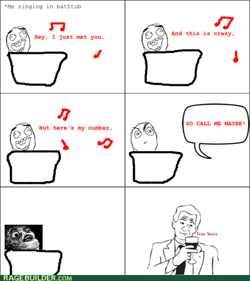 call me maybe Rage Comics raisin face true story - 6393852672
