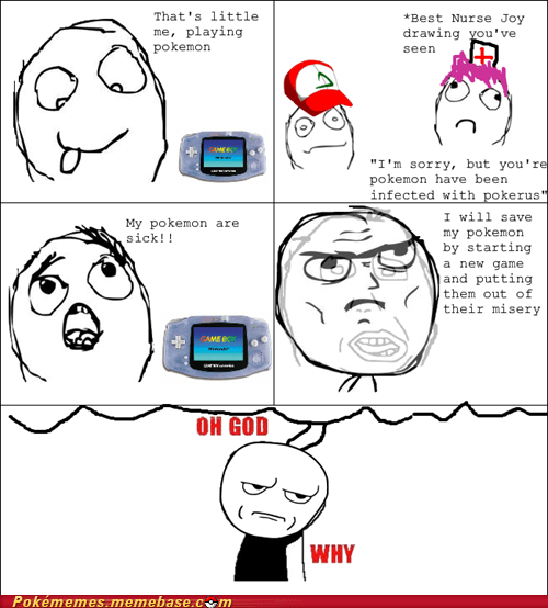 infected,nurse joy,pokerus,rage comic,Rage Comics,rare,Sad