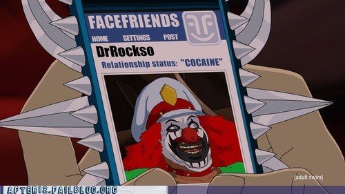 blow coke dr rockso dr-rockso facefriends Hall of Fame Metalocalypse