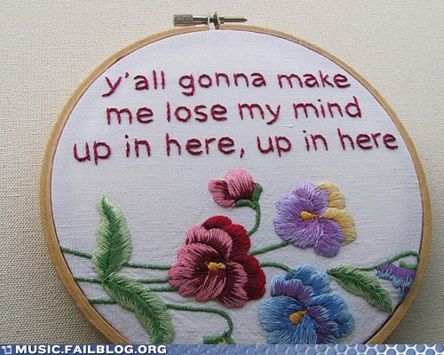 dmx,embroidery,hip hop,stitching,up in here
