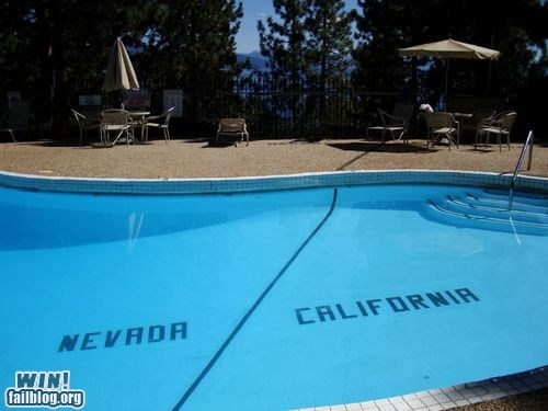 california,Nevada,pool,state lines