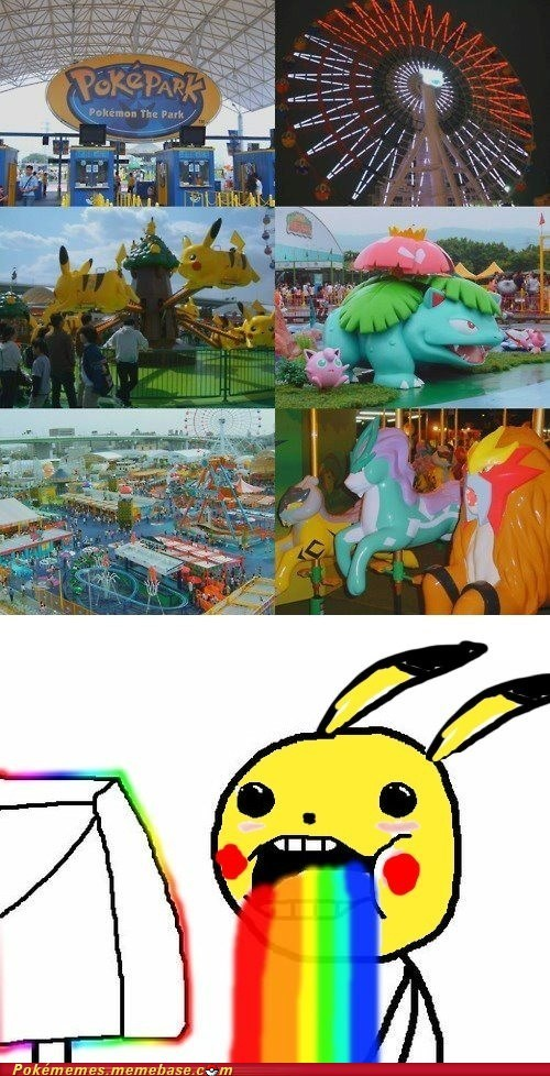 IRL oh my god Pokémemes pokepark Pokémon - 6394073600
