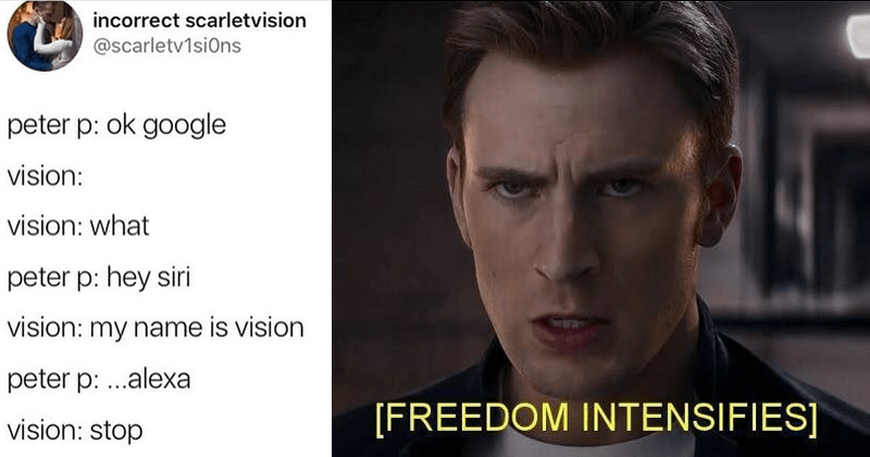 Marvel memes and posts.