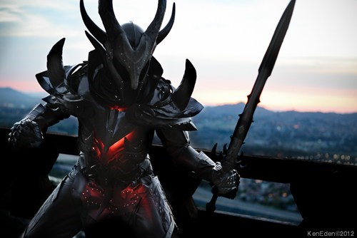 cosplay daedric armor the elder scrolls video games