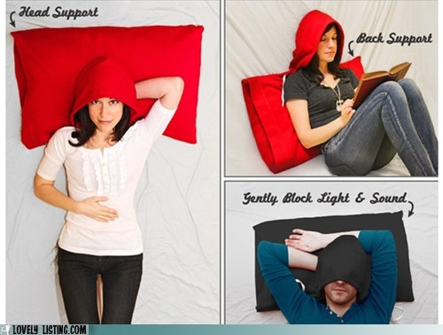 dumb hood hoodie Pillow silly