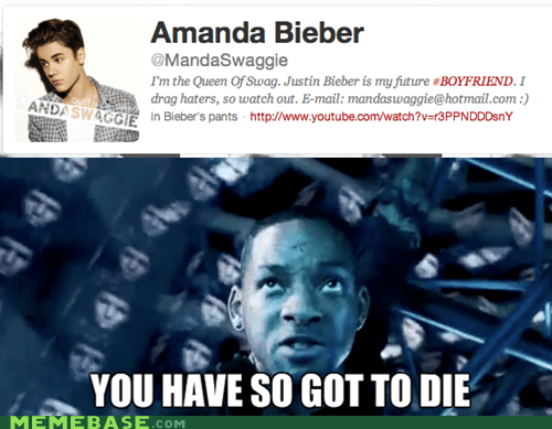 amanda bieber,Death,Memes,spooner,will smith