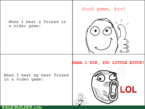 good game lol Rage Comics video games - 6394322944
