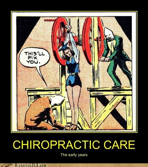 chiropractor stretch torture wheel - 6394439168