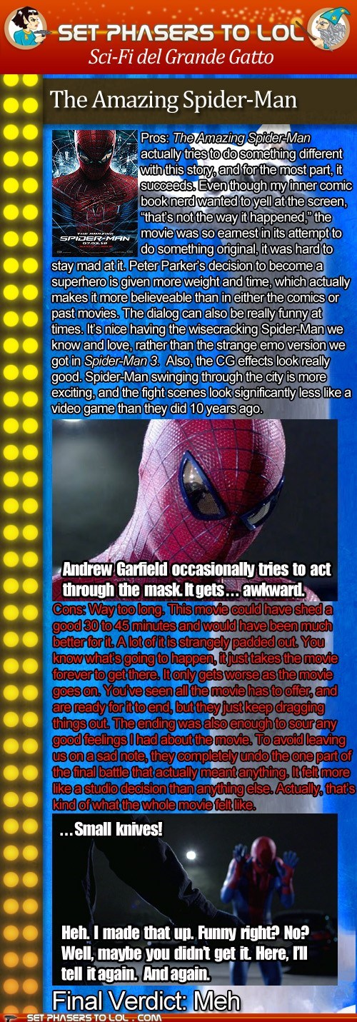 andrew garfield,cinema,grande gatto,News and Reviews,peter parker,reviews,superheroes,the amazing spider-man