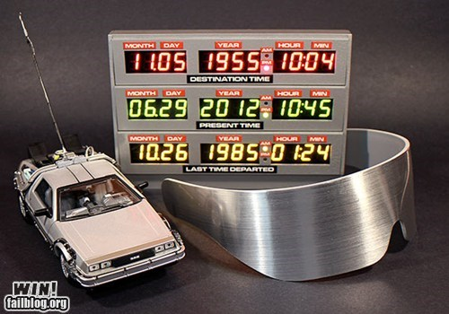 awesome back to the future retro toys - 6394467584