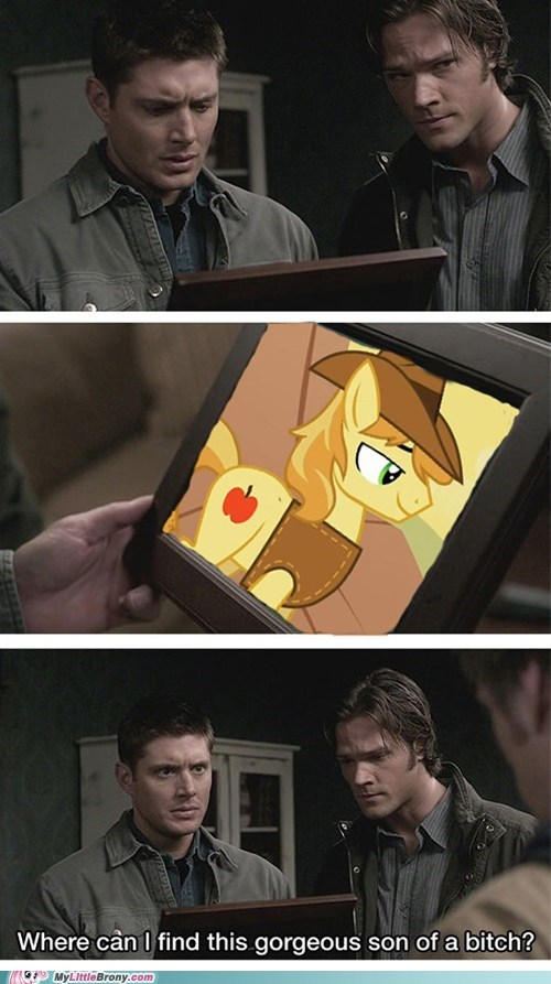 braeburn comic comics meme Supernatural - 6394473984