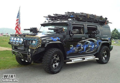 Battle cars hummer