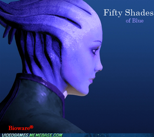 BioWare fifty shades of grey mass effect meme - 6394493952
