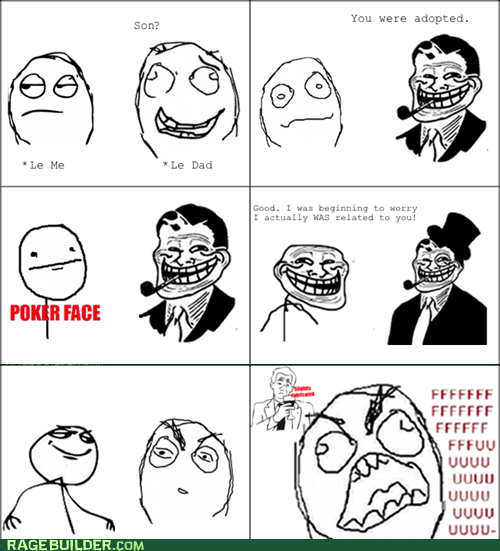 fu guy,parenting,paternity,Rage Comics