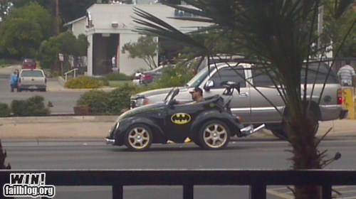 batmobile beetle bug comic books nerdgasm