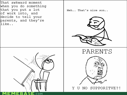 parenting,Rage Comics,table flip,Y U No Guy