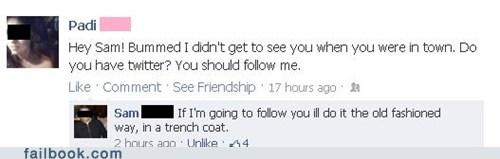 stalking trench coat twitter - 6395494400