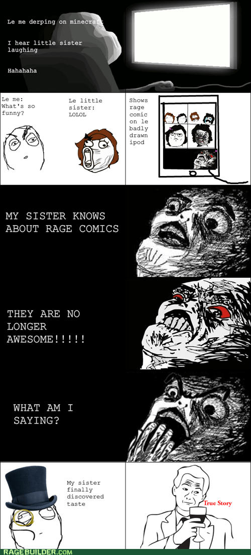 Rage Comics,raisin face,siblings,true story