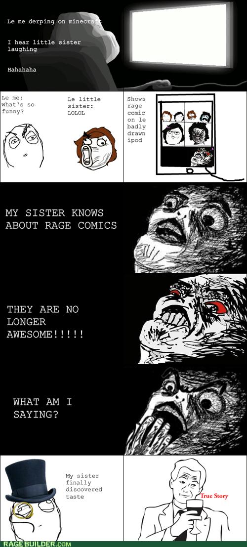 Rage Comics raisin face siblings true story - 6395880704