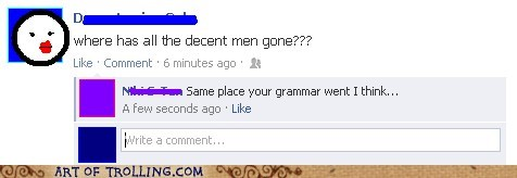 facebook,grammar,men,relationships