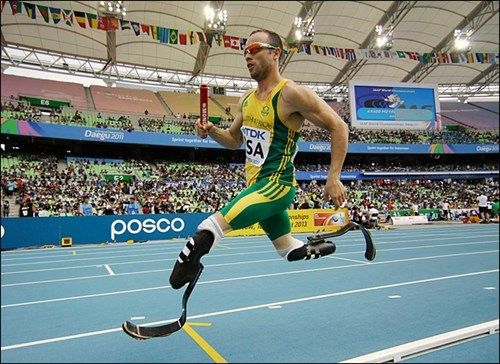 amputee athlete groundbreaking olympian London Olympics oscar pistorius - 6396378368
