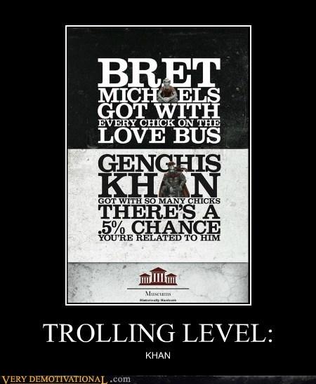 bret michaels,genghis khan,hilarious,trolling