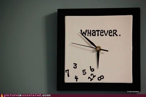 apathy clock meh whatever wtf - 6396719616